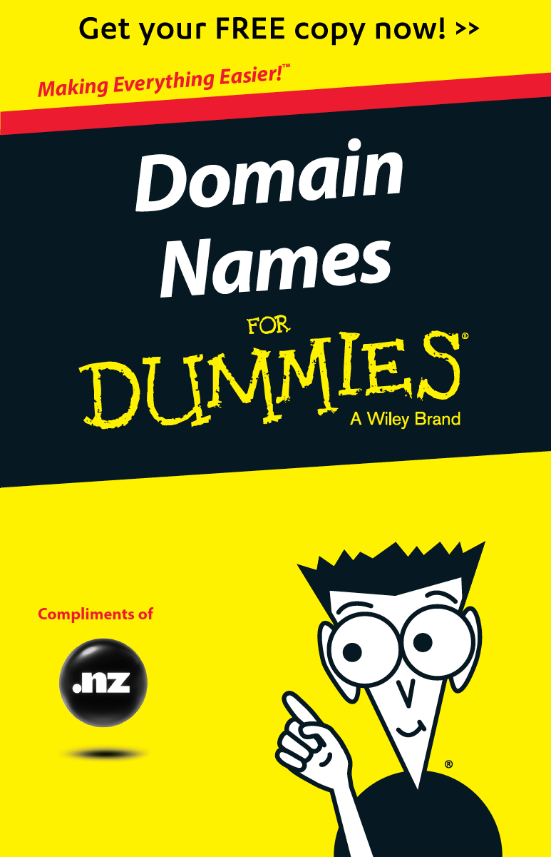 Get your FREE copy of Domains Names for Dummies